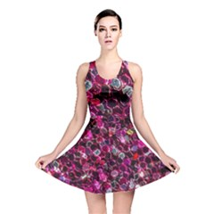 Art Artistic Design Pattern Reversible Skater Dress