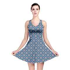 Geometric Tile Reversible Skater Dress