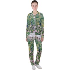 Peafowl Peacock Feather Beautiful Casual Jacket And Pants Set by Sudhe
