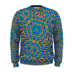 Abstract Background Futuristic Handcraft Men s Sweatshirt