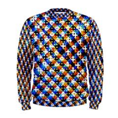 Kaleidoscope Art Unique Design Men s Sweatshirt