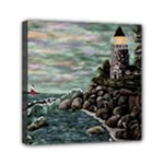 Masons s Point Mini Canvas 6  x 6  (Stretched)