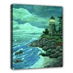 Madeline s Lighthouse Deluxe Canvas 24  x 20  (Stretched)