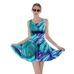 Leaves Tropical Palma Jungle Skater Dress
