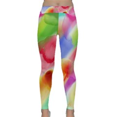 Colorful Watercolors                    Yoga Leggings