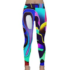 Curvy Collage Classic Yoga Leggings