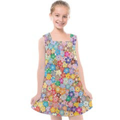 Floral Desire Kids  Cross Back Dress by TimelessFashion