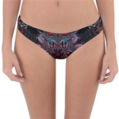 Abstract Flower Artwork Art Reversible Hipster Bikini Bottoms by Sudhe