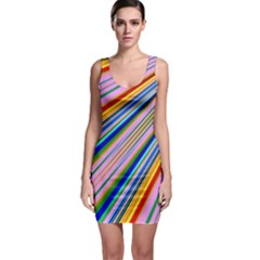 Background Colors Colorful Design Bodycon Dress