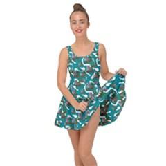 Koala Bears Pattern Inside Out Casual Dress by bloomingvinedesign