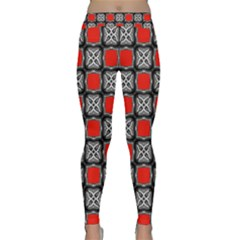 Pattern Square Classic Yoga Leggings by Alisyart