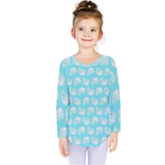 Glitched Candy Skulls Kids  Long Sleeve Tee by VeataAtticus