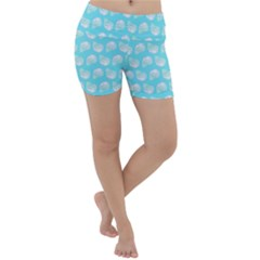 Glitched Candy Skulls Lightweight Velour Yoga Shorts by VeataAtticus