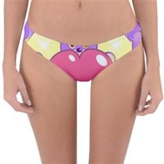 Seamless Repeating Tiling Tileable Reversible Hipster Bikini Bottoms by Wegoenart