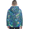 Immunity Grid Men s Hooded Puffer Jacket View2