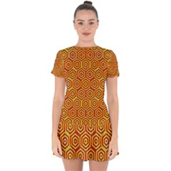 Rby 31 Drop Hem Mini Chiffon Dress by ArtworkByPatrick