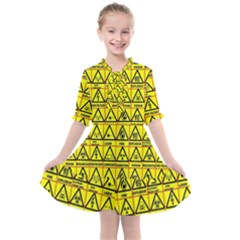Emergency Kids  All Frills Chiffon Dress by ArtworkByPatrick