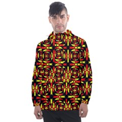 Abp Rby 9 Men s Front Pocket Pullover Windbreaker by ArtworkByPatrick