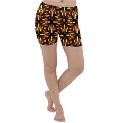 Abp Rby 9 Lightweight Velour Yoga Shorts by ArtworkByPatrick