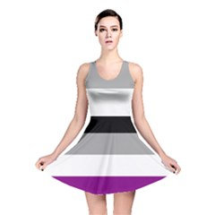 Asexual Pride Flag Lgbtq Reversible Skater Dress by lgbtnation