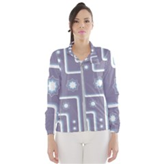 Pattern Non Seamless Background Women s Windbreaker