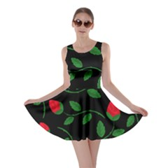 Roses Flowers Spring Flower Nature Skater Dress