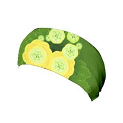 Buttercup Ranunculus Globe Flower Yoga Headband by Pakrebo