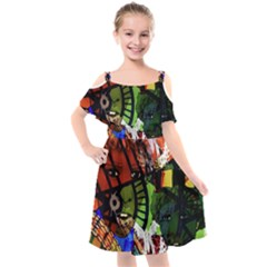 Design 4 Kids  Cut Out Shoulders Chiffon Dress by TajahOlsonDesigns