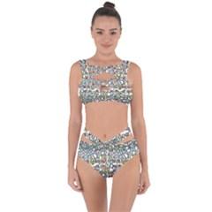 Zappwaits Bandaged Up Bikini Set  by zappwaits
