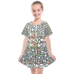 Zappwaits Kids  Smock Dress by zappwaits