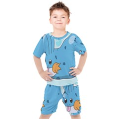 Patokip Kids  Tee And Shorts Set by MuddyGamin9