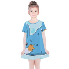 Patokip Kids  Simple Cotton Dress by MuddyGamin9