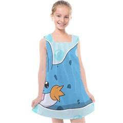 Patokip Kids  Cross Back Dress by MuddyGamin9