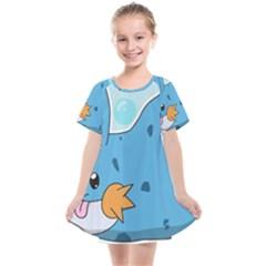 Patokip Kids  Smock Dress by MuddyGamin9