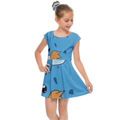 Patokip Kids  Cap Sleeve Dress by MuddyGamin9