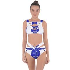 Uss Enterprise Insignia Bandaged Up Bikini Set  by abbeyz71