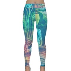 Opaled Abstract  Classic Yoga Leggings by VeataAtticus