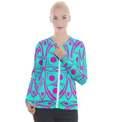 Butterfly Casual Zip Up Jacket by designsbyamerianna