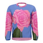 Roses Womens Fashion Men s Long Sleeve Tee