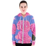 Roses Womens Fashion Women s Zipper Hoodie