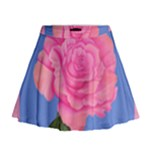Roses Womens Fashion Mini Flare Skirt