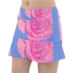 Roses Womens Fashion Tennis Skirt