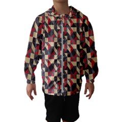 Pattern Textiles Kids  Hooded Windbreaker by HermanTelo