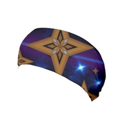 Star Background Yoga Headband by HermanTelo