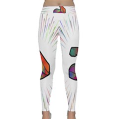 Strength Strong Arm Muscles Classic Yoga Leggings by HermanTelo