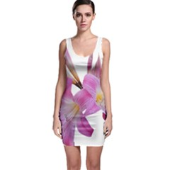 Lily Belladonna Easter Lily Bodycon Dress