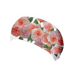 Roses Flowers Arrangement Perfume Yoga Headband by Pakrebo