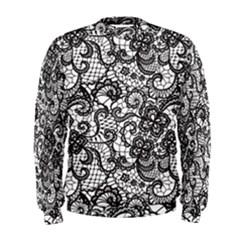 Encaje Men s Sweatshirt by Sobalvarro