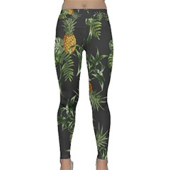 Pineapples Pattern Classic Yoga Leggings by Sobalvarro