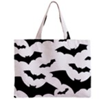 Deathrock Bats Zipper Mini Tote Bag